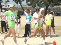 快走の加藤和彦さんから大道さんへ