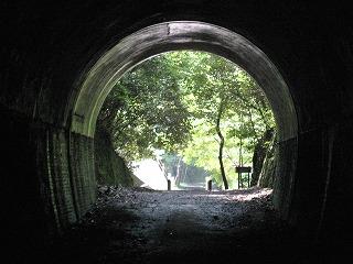 JR福知山線廃線跡トンネル