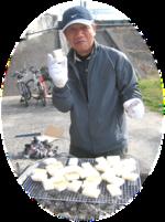 餅焼きおじさんの須田さん