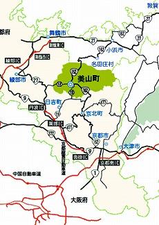 京都・美山町所在地